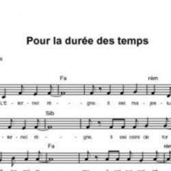 Pour la durée des temps - Fabienne Pons