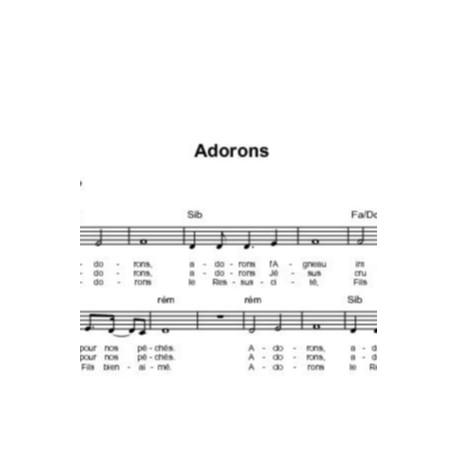 Adorons - Corinne Lafitte