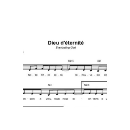 Dieu d'éternité - Brenton Brown