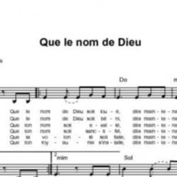 Que le nom de Dieu - Fabienne Pons