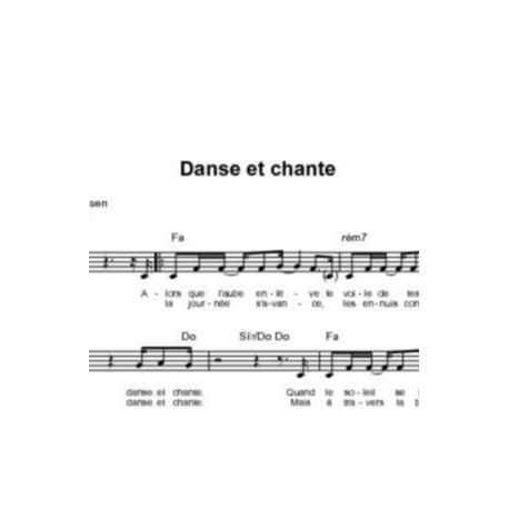 Danse et chante - Chris Christensen, Thierry Ostrini