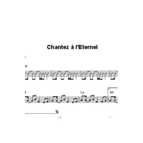 Chantez à l'Eternel - Samuel Olivier