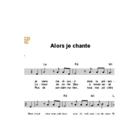 Alors je chante - Thérèse Motte