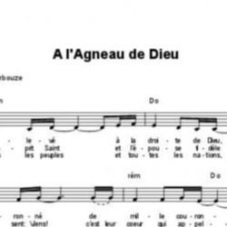A l'Agneau de Dieu - Elisabeth Bourbouze