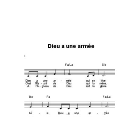 Dieu a une armée - Corinne Lafitte