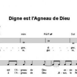 Digne est l'Agneau de Dieu - Corinne Lafitte