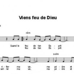 Viens feu de Dieu - Fabienne Pons