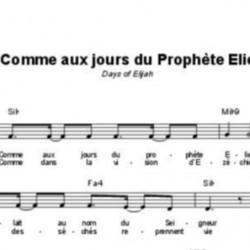 Comme aux jours du prophète Elie - Robin Mark