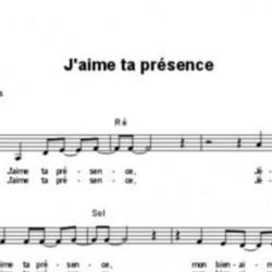 J'aime ta présence - Fabienne Pons
