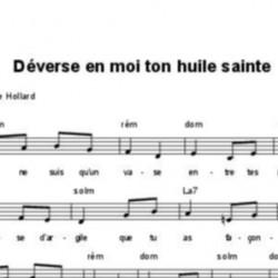 Déverse en moi ton huile sainte - Marie-Thérèse Hollard